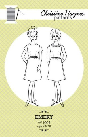 Emery Dress sewing pattern by Christine Haynes
