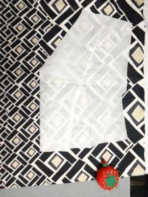Anna Dress bodice fabric placement - csews.com