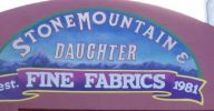 Stonemountain & Daughter Fabrics - photo by C Sews - csews.com