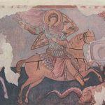 Фреска из храма Трех Всадников