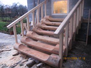 Рубленая лестница_494