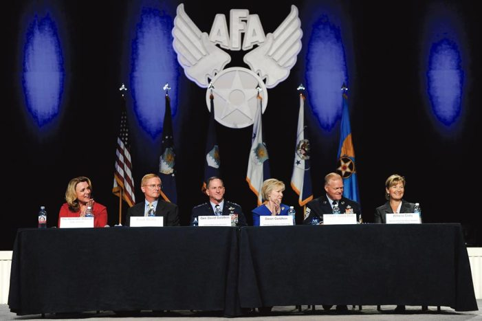 Air Force leaders, spouses focus on family readiness
