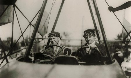 Allan Lockheed (right) was one of America's aviation pioneers. Allan and his brother, Malcolm, formed several companies together, including Lockheed Aircraft Company, now known as Lockheed Martin.