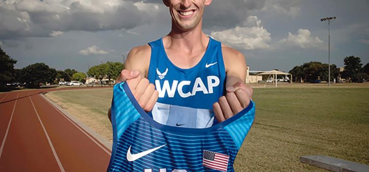 Simmons, Blackburn honored as Air Force Athletes of the Year