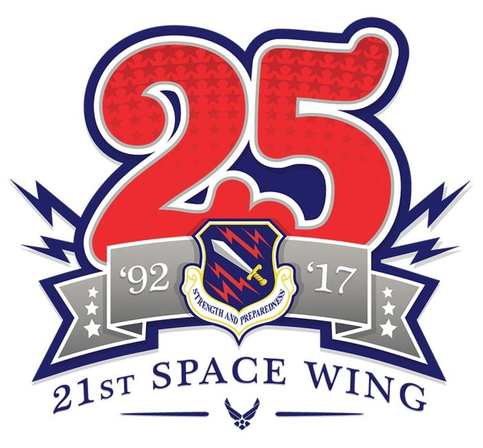 21st Space Wing strikes silver
