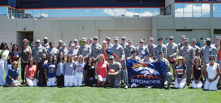 John Elway makes another touchdown for Airman