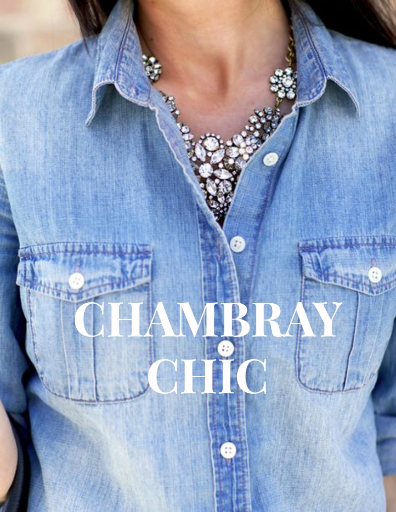 "The chambray shirt is an American classic that has stood the test of time for its durability, casual ease, and rugged-yet-stylish appearance. For hundreds of years, the chambray shirt has been a workman's shirt — it's what originated the term ""blue collar.""."