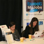 TweetMyJobs Vendor Booth