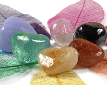 los chakras y la piedras