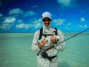 Cuban Fishing, 3-6-15, My First Bonefish By Warren Jackson, Via Creative Commons.