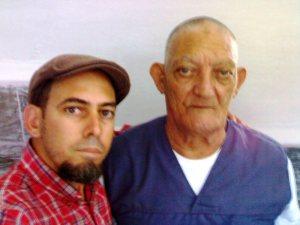 Con Díaz Bouza en la prisión
