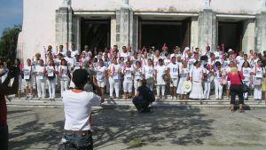 Damas de Blanco en La Habana el primer domingo tras anuncio de restablecimiento de relaciones entre Estados Unidos y Cuba