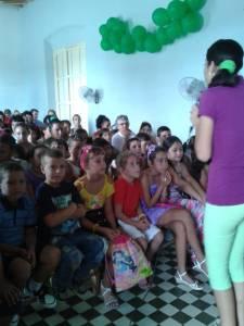 Actividad infantil en la iglesia