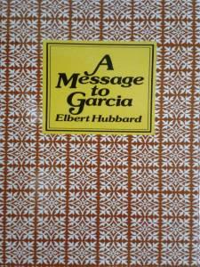 Portada de mi libro El Mensaje a Garcia
