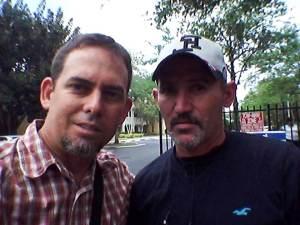 con Vladimir Morera Bacallao. el encuentro que no fue posible en Cuba fue posible en Miami