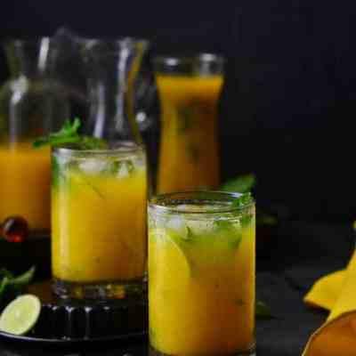 Mango-Ginger Virgin Mojito