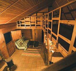 La casita de madera cubica creative - La casita de madera ...