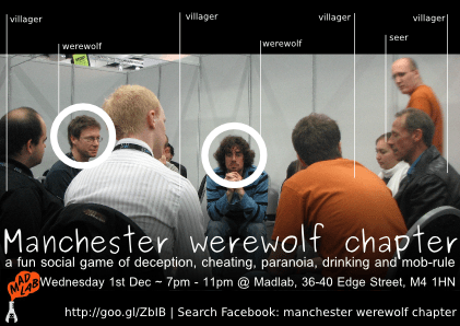 Werewolf Manchester Chapter