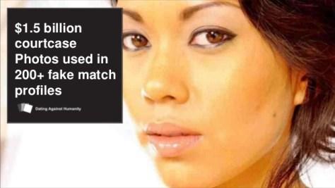 Fake match profiles