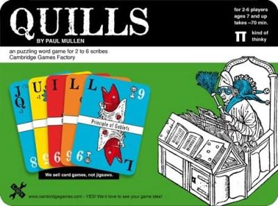 Portada de Quills