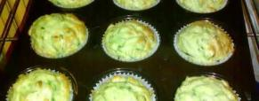Muffin zucchine e cipolle