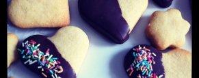 Biscotti di frolla per San Valentino