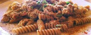 Pasta risottata con tonno e pomodorini