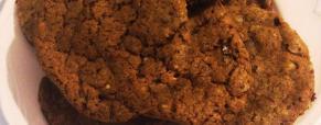 Cookies al cioccolato fondente e nocciole