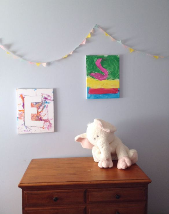 Kids Craft: canvas wall art
