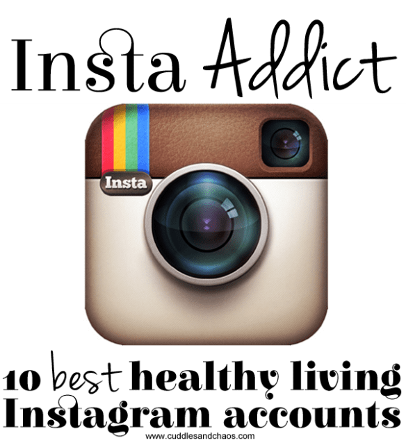 best healthy living instagram accounts