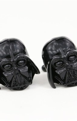 Cufflinks Darth Vader in Black Color Star Wars