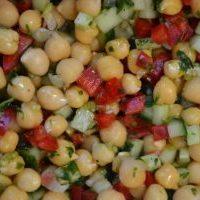 Bento #4 pour Battle Food #33 Salade de pois chiches façon taboulé libanais