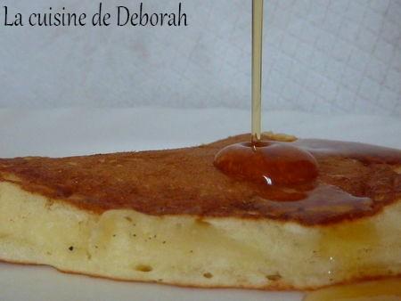 Pancakes au fromage blanc    Cuisine de Deborah
