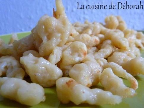 Les Spaetzlés, Pâtes Alsaciennes   Cuisine de Deborah