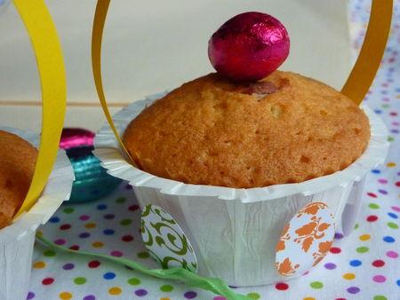 Les Cupcakes dans leurs jolis paniers - Cuisine de Déborah