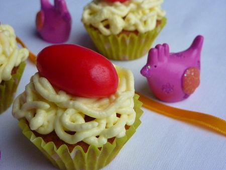Les minis-cupcakes nids de Pâques - Cuisine de Déborah