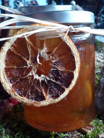 Confiture d'oranges aux épices de Noël - Cuisine de Deborah