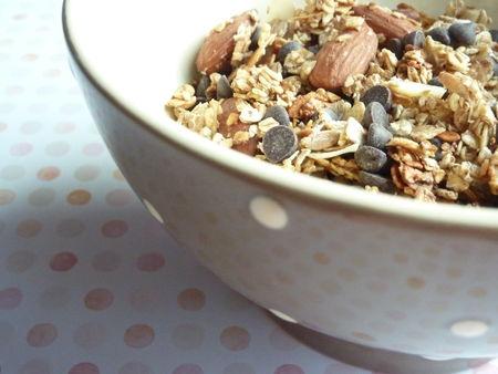 Muesli maison aux amandes, chocolat et noix de coco - Cuisine de Deborah