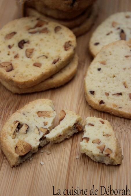 Biscuits amandes et noix de cajou    La cuisine de Deborah