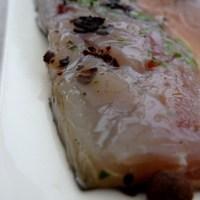 Filets de maquereaux marinés façon gravelax
