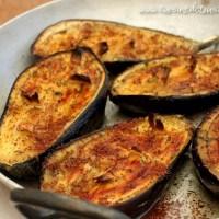Aubergines rôties au sumac