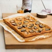 Tarte à l'andouille et oignons de Roscoff au cidre [recette]