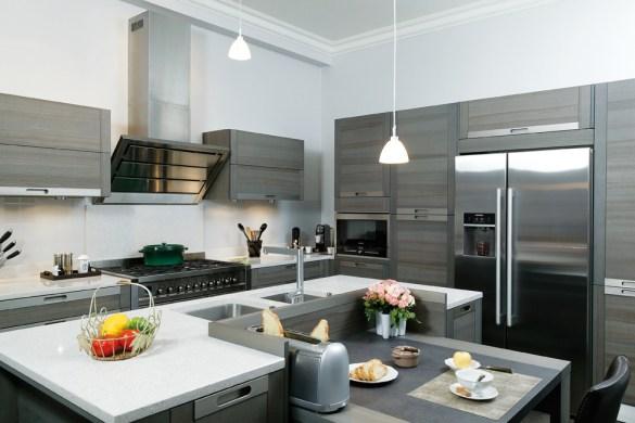 La cuisine mise en sc ne comme au th tre cuisines et bains - Robinet bulthaup ...