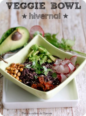 Vegan : veggie bowl