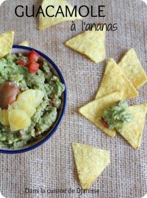 Guacamole à l'ananas - vegan et sans gluten