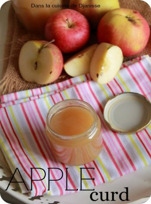 Apple curd vegan