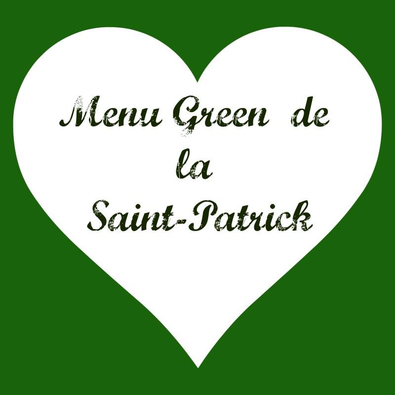Menu Saint Patrick