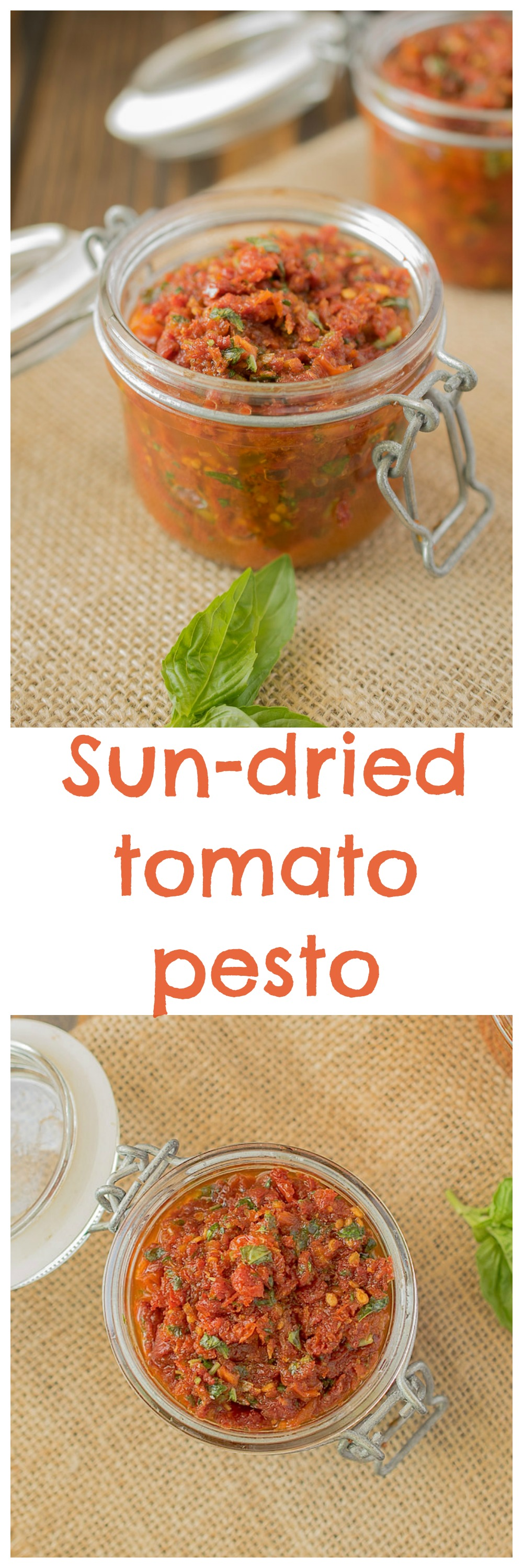 Sun-dried tomato pesto - Culinary Ginger