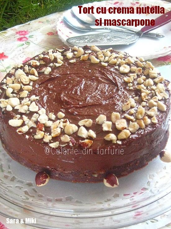 Tort-cu-crema-nutella-si-mascarpone-1
