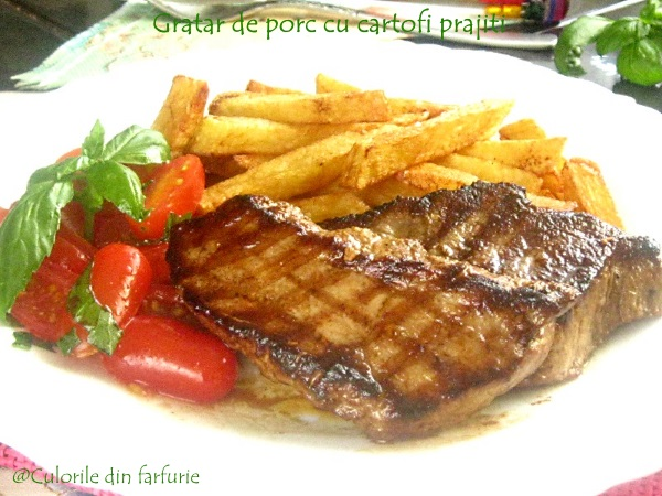 Gratare-de-porc-cu-cartofi-prajiti-3-1